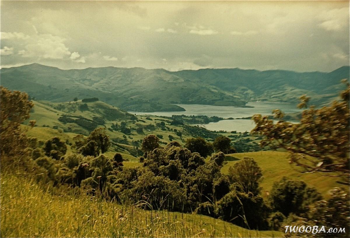 Nostalgische foto 39 s van onze nieuw zeeland reizen 1996 1999 foto album en video - In het midden eiland grootte ...