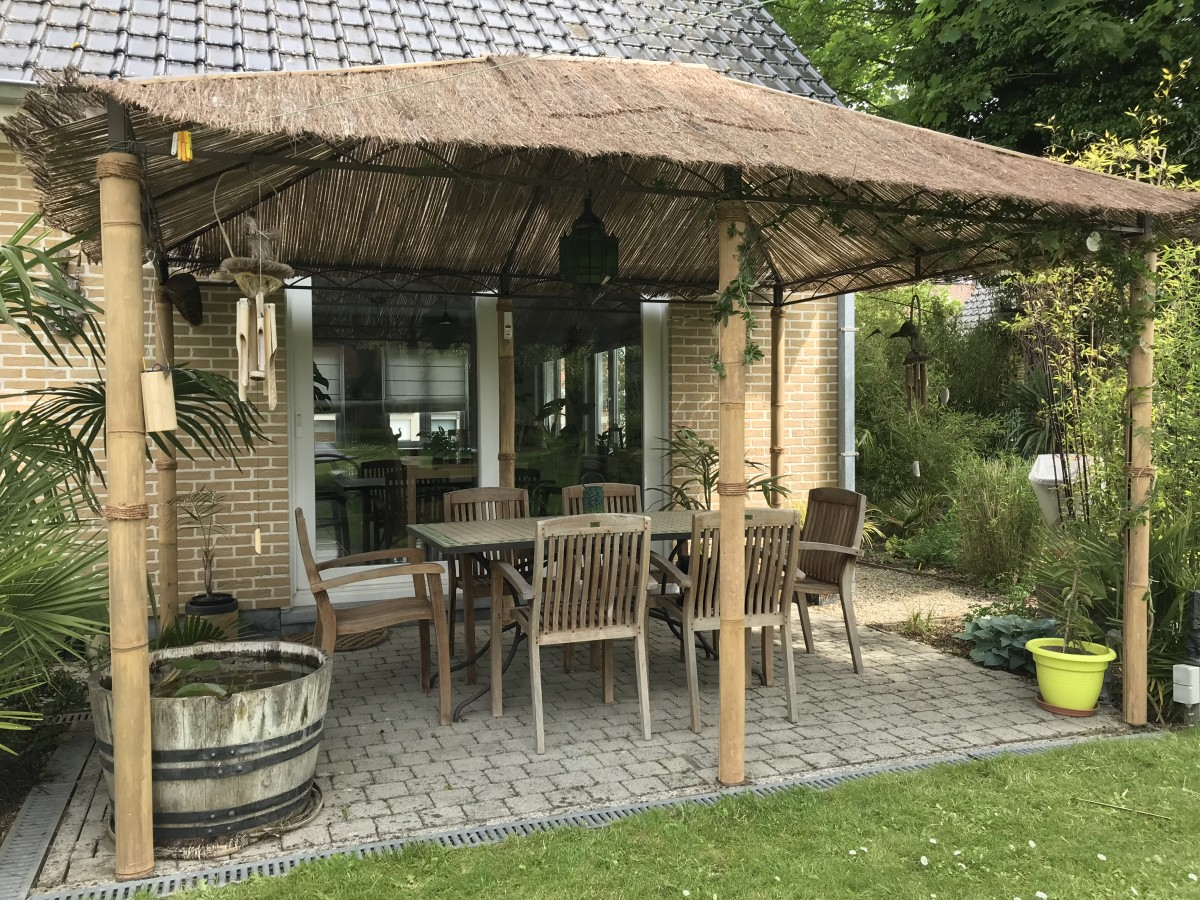 How To Make An Exotic Pergola La Palmeraie Gb